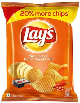 Lays Potato Chips - Hot n Sweet Chilli 25 gm