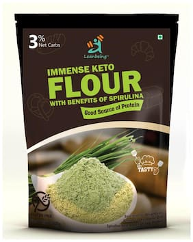 Leanbeing Immense Keto Flour with Benefits of Spirulina 500g (Pack of 1)