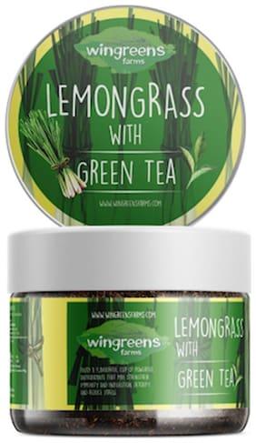 Wingreens Lemongrass with Green Tea 60g