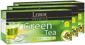Lemor Cardamom Green Tea Bag (3 pack of 25 PC)