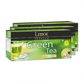 Lemor Ginger Green Tea Bag (3 Pack of 25 PC)