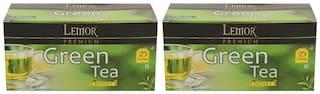Lemor Honey Green Tea 25 Tea Bags - Pack Of 2