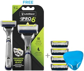 LetsShave Pro 6 Advance Value Set (Pack of 3)