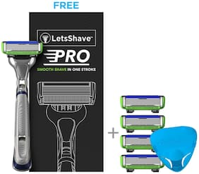 LetsShave Pro 6 Sensitive Value Set (Pack of 3)