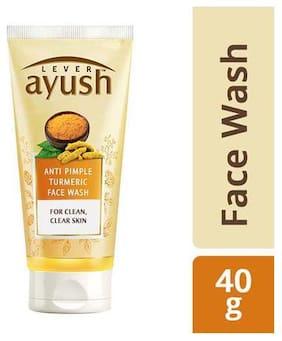 Lever Ayush Face Wash - Anti Pimple Turmeric  40 gm