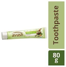 Lever Ayush Toothpaste - Freshness Gel  Cardamom 80 gm