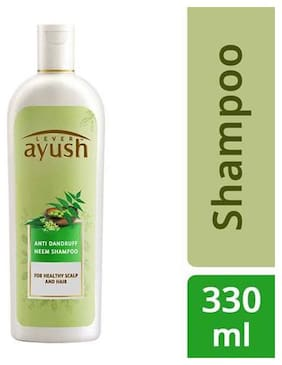 Lever Ayush Shampoo - Anti Dandruff  Neem 330 ml
