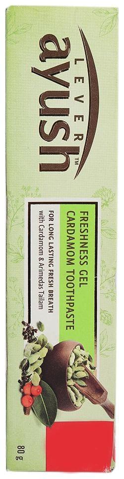 Lever Ayush Freshness Gel Cardamom Toothpaste 80 gm