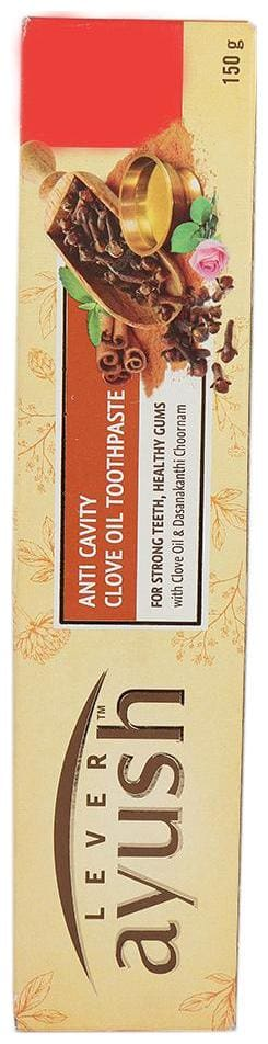 Lever Ayush Anti Cavity Clove Oil Toothpaste 150 g
