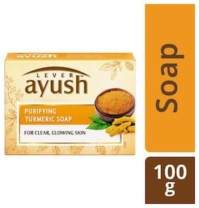 Lever Ayush Soap - Purifying Turmeric 100 g