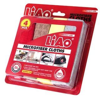 Liao Cleaning Cloth - Micro Fiber 4 pcs