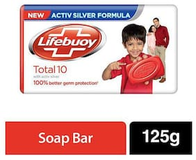 Lifebuoy Total 10 Soap Bar  125 g