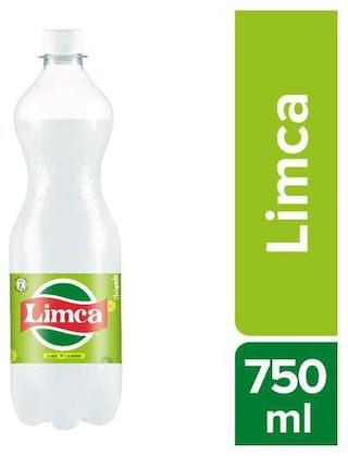 Limca  Soft Drink - Lemon & Lime Flavoured 750 ml