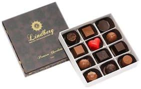 Lindberg Assorted Gift Box - Pure Belgium Chocolate Truffles 120 Gm 12 Pcs