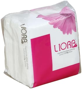 Liora Napkins,1 Ply,100 Pulls (Pack of 6)