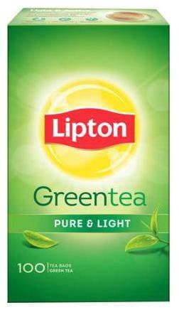 Lipton Green Tea Pure & Light 100 Teabags