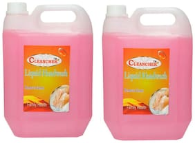 Liquid Hand Wash (5 L) Floral (Pack of 2) Refil Pack