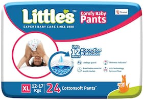 Little's Comfy Baby Pants - Extra Large-24 Pieces