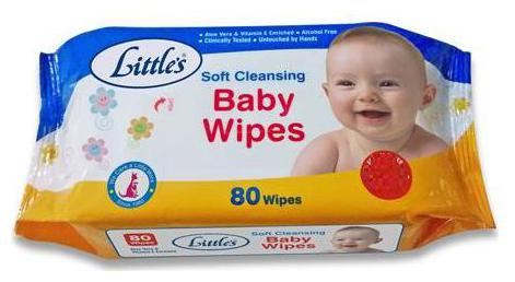 Littles Baby Wipes   Soft Cleansing 80 Wipes