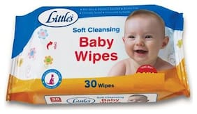 Littles Baby Wipes - Soft Cleansing 30 pcs