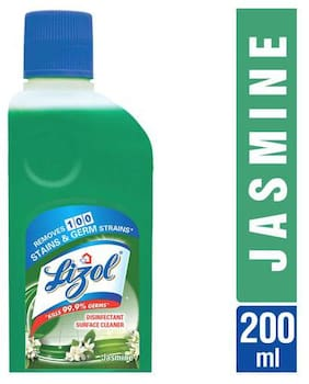 Lizol Disinfectant Surface Cleaner - Jasmine 200 ml