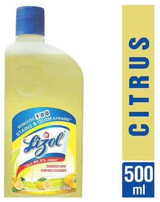 Lizol Disinfectant Surface Cleaner - Citrus 500 ml