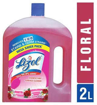 Lizol Disinfectant Surface Cleaner - Floral 2 L