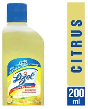 Lizol Disinfectant Surface Cleaner - Citrus 200 ml