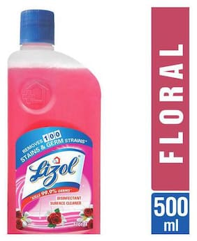Lizol Disinfectant Surface Cleaner - Floral 500 ml