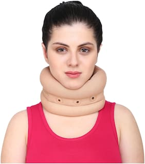 Longlife Soft Cervical Collar (M(3.5-4-0) Inch)