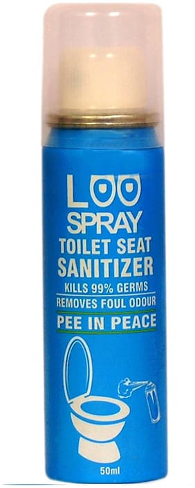 Loo Spray Toilet Seat Sanitizer Spray Can 50ml
