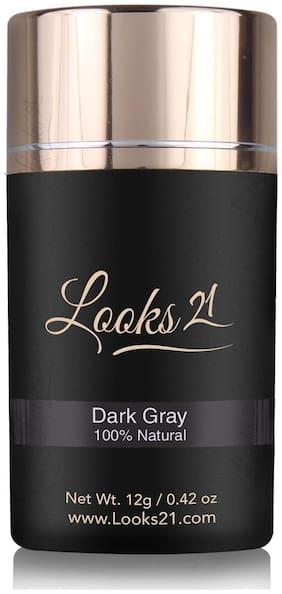 Looks21 Hair Loss Concealer (Dark Grey 12 gm)