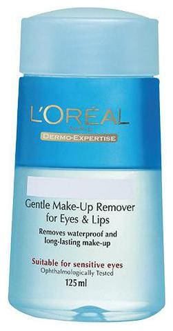 Loreal Paris Dermo Expertise Lip and Eye Makeup Remover  125  ml