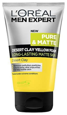 Loreal Paris Men Expert Dessert Clay Facewash 100 ml