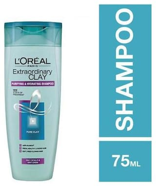 Loreal Paris Extraordinary Clay Shampoo 75 ml
