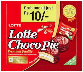 Lotte Choco Pie 18 pcs ( Pack of 1 )
