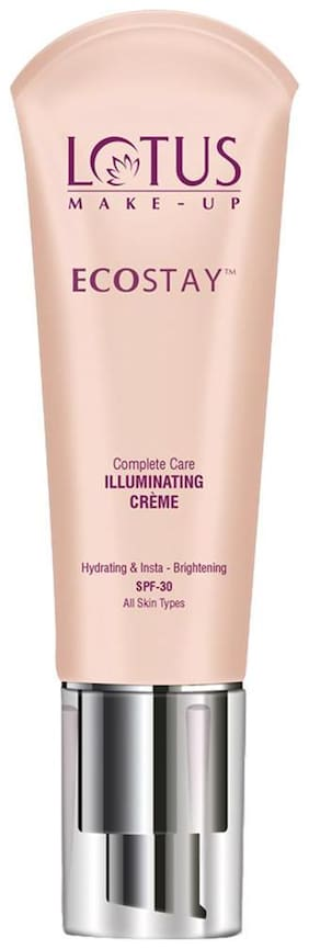 Lotus Herbals Make-up Ecostay CC Complete Care Illuminating Cre me SPF 30 Ivory Light (IC03) 25g
