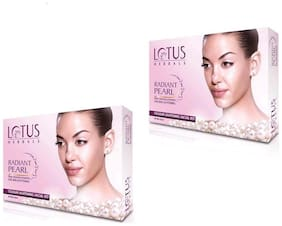 Lotus Herbals Radiant Pearl Cellular Lightening Facial Kit ( Pack of 2)