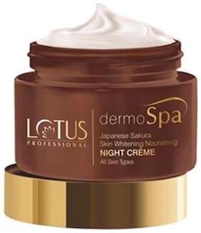 Lotus Professional Dermo Spa Japenese Sakura - Skin Whitening & Nourishing Night Creme