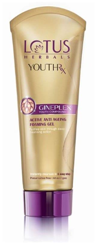 Lotus Herbals Youthrx Active Anti-Ageing Foaming Gel 100 G