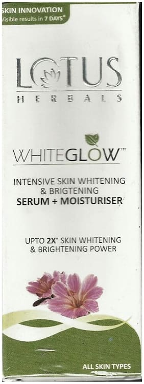Lotus Herbals White Glow Serum+Moisturiser 30 ml