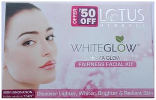 Lotus Herbals Whiteglow Insta Glow Fairness Facial Kit