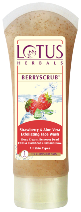 Lotus Herbals Berry Scrub 80 gm