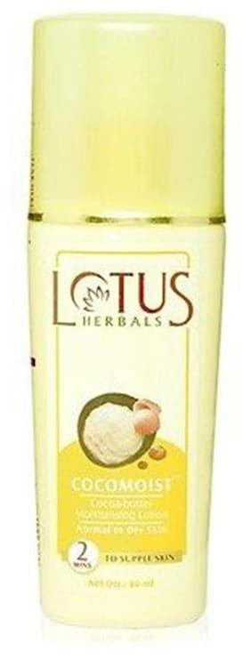 Lotus Herbals Cocomolst Moisturising Lotion 80 ml (Pack of 2)