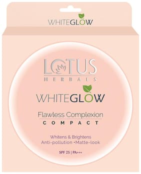 Lotus Herbals WhiteGlow Flawless Complexion Compact WG C1 WG C1 10ml
