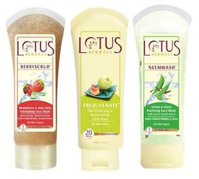Lotus Herbals Ultra Face Care Combo