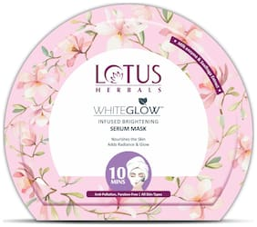 Lotus Herbals WhiteGlow Infused Brightening Serum Mask