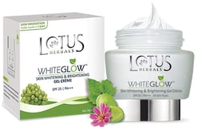 Lotus Herbals White Glow Gel Creme (60 gm)