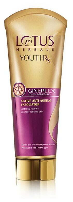 Lotus Herbals Youth Rx Active Anti-ageing xfoliator 100 g
