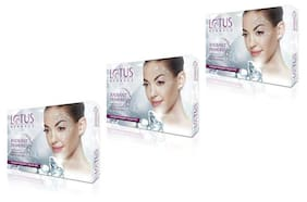 Lotus Herbals Radiant Diamond Cellular Radiance Facial Kit(Pack of 3)